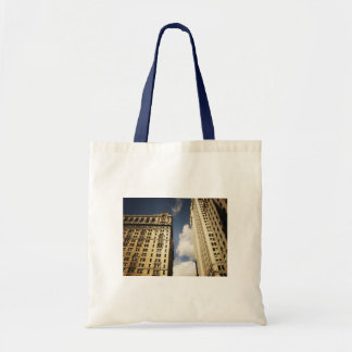Two Skyscrapers in the Financial District NYC Bags