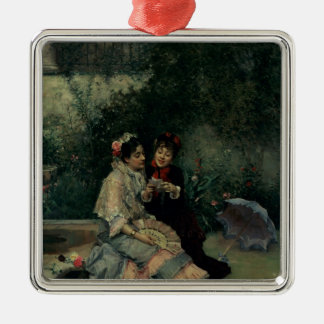 Two Spanish Women Christmas Ornament