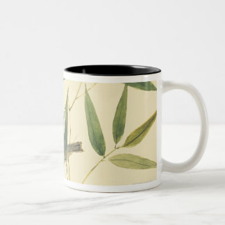 Two Sparrows Two-Tone Coffee Mug
