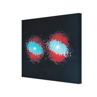 Two Spiral Galaxies 2 Gallery Wrapped Canvas