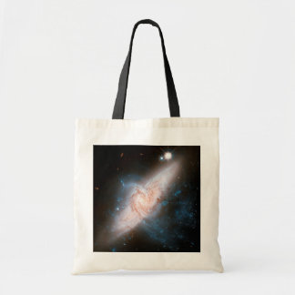 Two Spiral Galaxies Overlap Galaxy Print Space Sky Bags