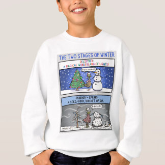 Two Stages of Winter Sweatshirt