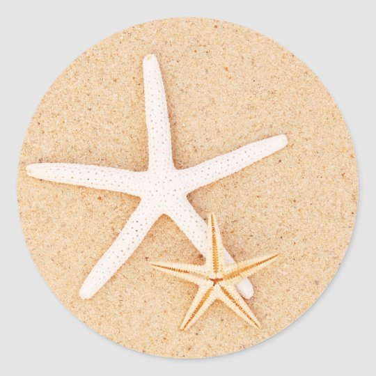 Two Starfish Stickers