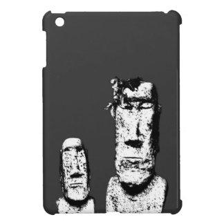 Two Stone Heads (the Eds) iPad mini case