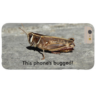Two-Striped Grasshopper Bugged iPhone Case