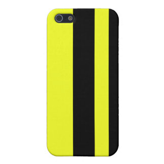 Two stripes on kung-fu yellow iphone case iPhone 5/5S case