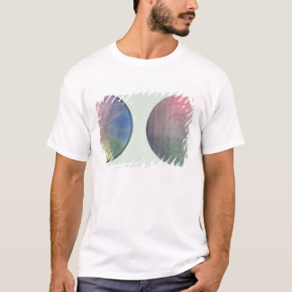 Two studies of cross and longitudinal section T-Shirt