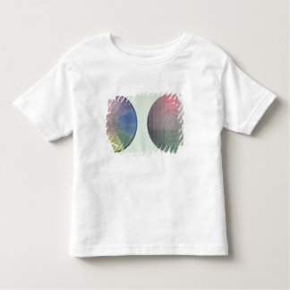 Two studies of cross and longitudinal section toddler T-Shirt