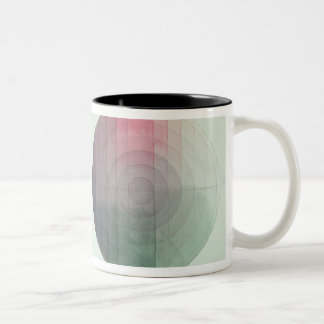 Two studies of cross and longitudinal section Two-Tone coffee mug