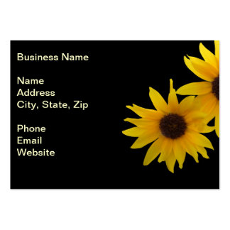 Two Sunny Sunflowers Business Card