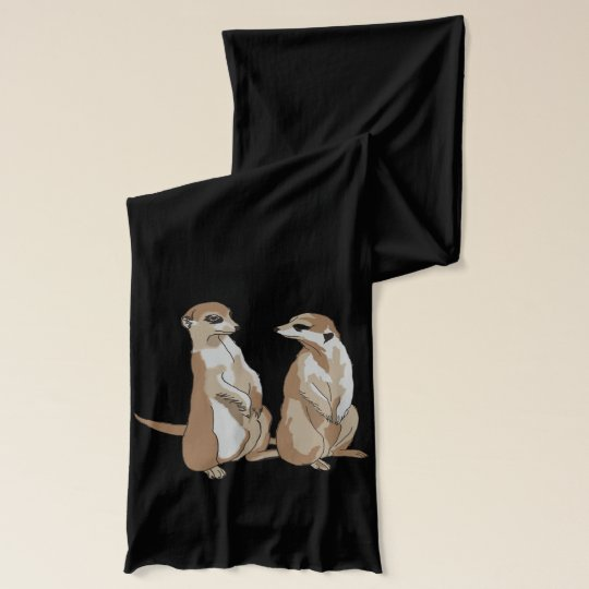 Two Suricates Scarf