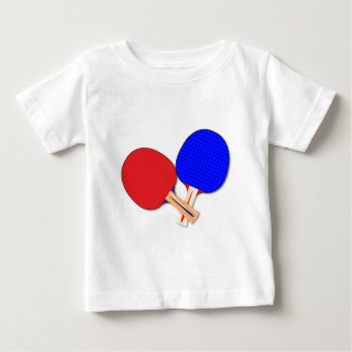 Two Table Tennis Bats Baby T-Shirt
