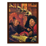Two Tax Collectors By Reymerswaele Marinus Claesz. Post Cards