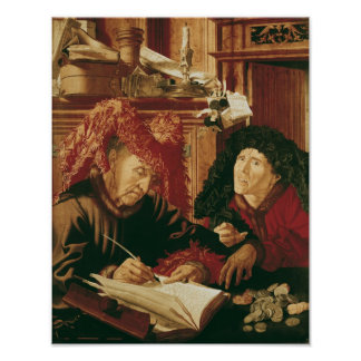 Two Tax Gatherers, c.1540 Poster