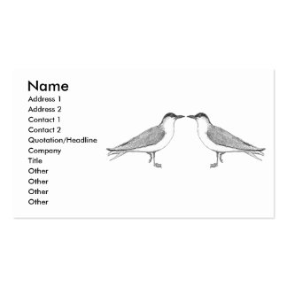 Two Terns Business Card