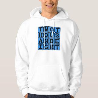 Two Thousand Eight, Year 2008 Hooded Sweatshirt