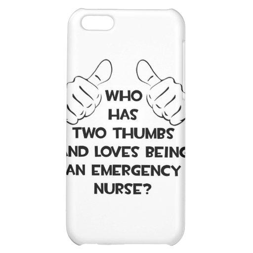 Two Thumbs .. Emergency Nurse Cover For iPhone 5C