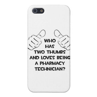 Two Thumbs .. Pharmacy Technician iPhone 5 Cover