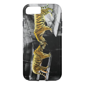 Two Tigers Colour Effect iPhone 7 Case