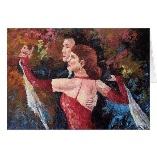 """""""Two To Tango"""" (Blank Card) Card"""