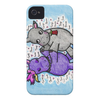 Two to Tango Hippos Blackberry Bold Cover