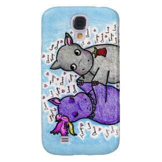 Two to Tango Hippos Galaxy S4 Case