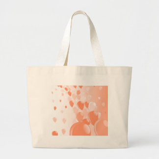Two Tone Baloons Large Tote Bag