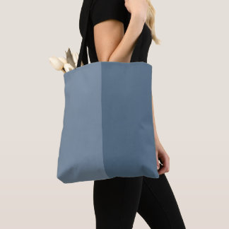 Two Tone - Blue Tote Bag