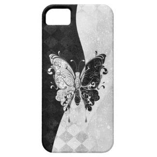 Two Tone Butterfly Barely There iPhone 5 Case