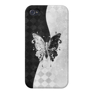 Two Tone Butterfly Cover For iPhone 4