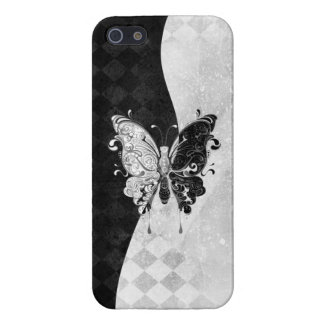 Two Tone Butterfly iPhone 5/5S Covers