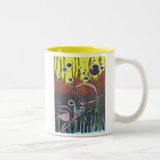 Two Tone Fishbowl  Mug