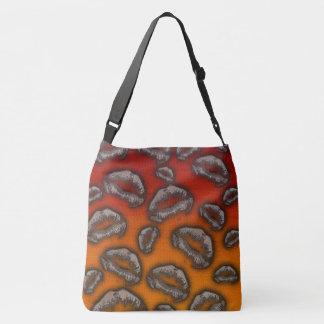 Two-Tone Lips Tote Bag