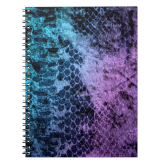 Two Tone Snakeskin Notebook