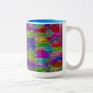two tone vibrant colour Two-Tone coffee mug