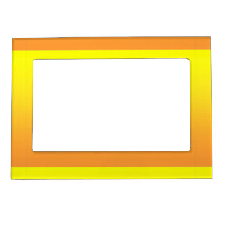Two Tone Yellow Magnetic Frame