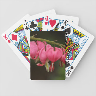 Two Toned Bleeding Hearts Poker Deck