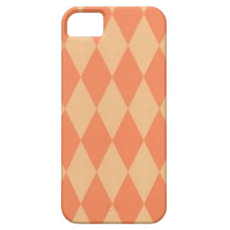 Two Toned Orange Harlequins Barely There iPhone 5 Case