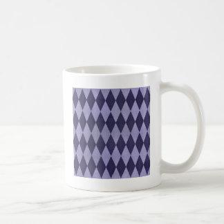 Two Toned Purple Harlequins Coffee Mug
