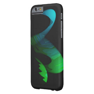 Two Tones Oval Effect on Black iPhone 6 case Barely There iPhone 6 Case