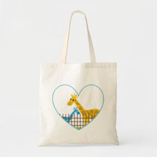 Two (Too) Cute Giraffes Tote  Bags