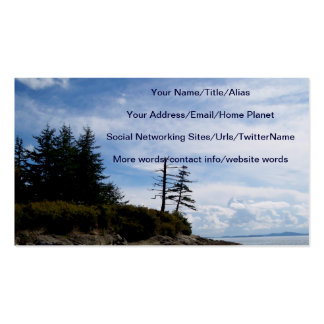 Two Tree Point Pack Of Standard Business Cards