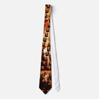 Two Trinities - The Holy Family - Murillo Tie