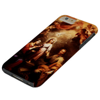 Two Trinities - The Holy Family - Murillo Tough iPhone 6 Plus Case