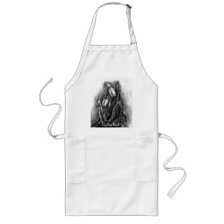 two tulips long apron