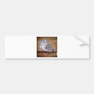 Two Turtle Doves Bumper Sticker