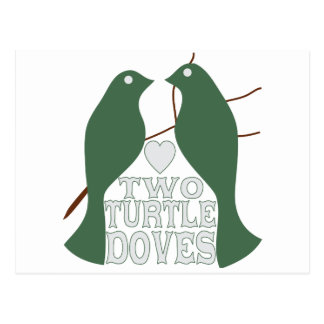 Two Turtle Doves Post Card
