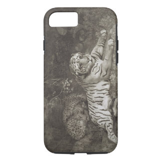 Two Tygers, engraved by the artist, pub. 1788 (etc iPhone 8/7 Case