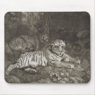 Two Tygers, engraved by the artist, pub. 1788 (etc Mouse Mat