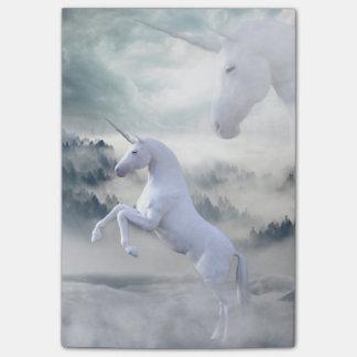 Two Unicorns Post-it Notes
